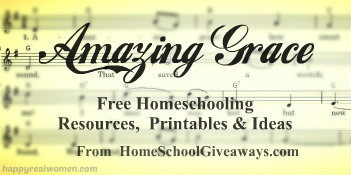 Amazing Grace hymn study homeschool resource