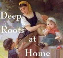 Deep roots at home badge