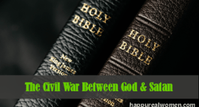 civil war between God and satan