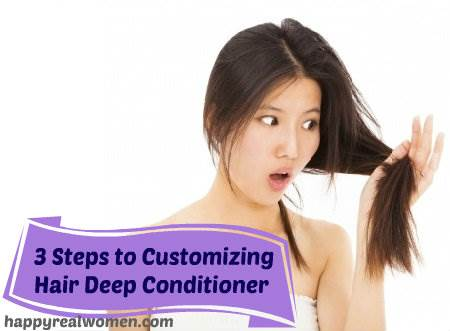3 steps to customizing hair deep conditioner