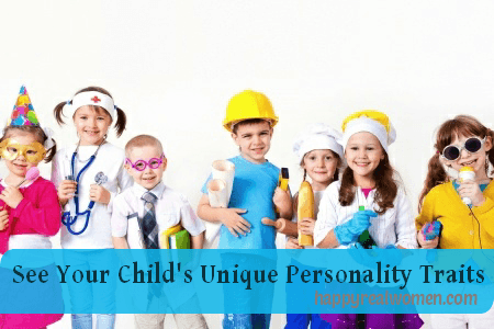See your child's unique personality