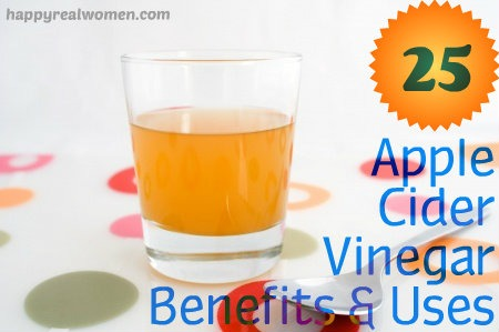 25 apple cider vinegar benefits & uses