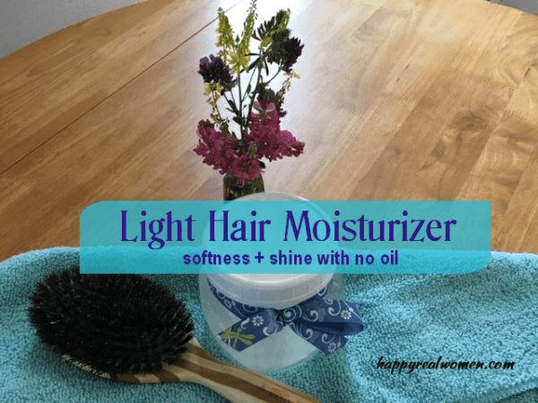 light hair moisturize