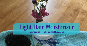 light hair moisturizer
