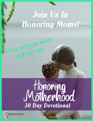 Honoring Motherhood Devotional signup link