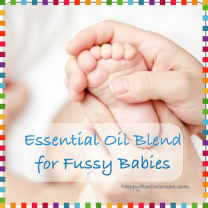 Essential Oil Blend for Fussy Babies